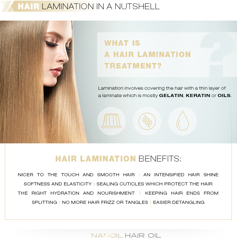 Hair lamination in a nutshell