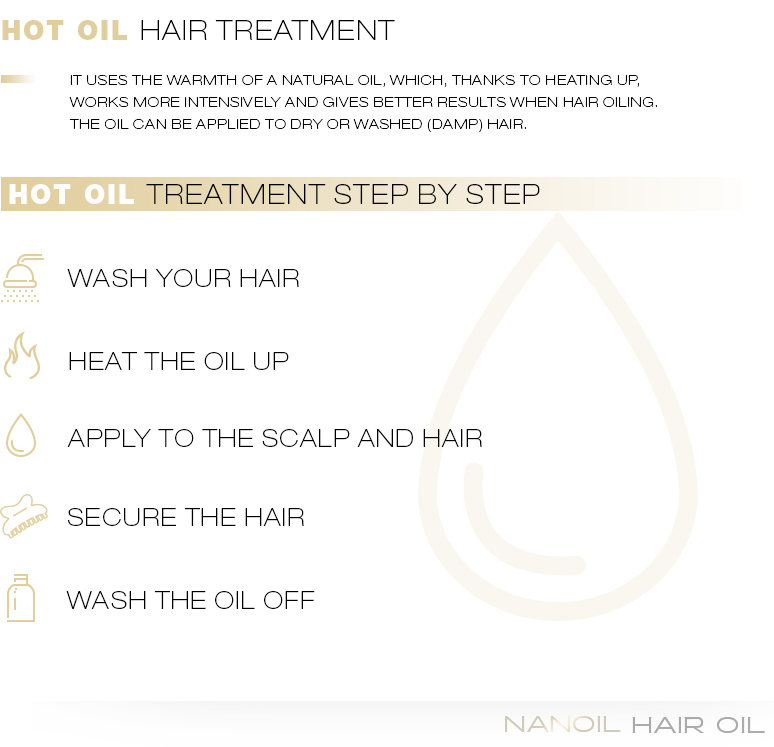 Hot Oil Hair Treatment - Extreme Power of Nourishing