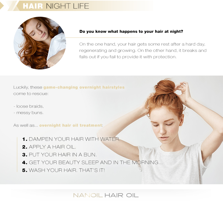 How to Take Care of Hair While Sleeping