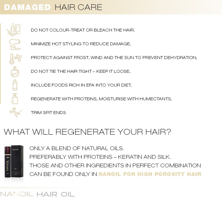 Damaged Hair Care