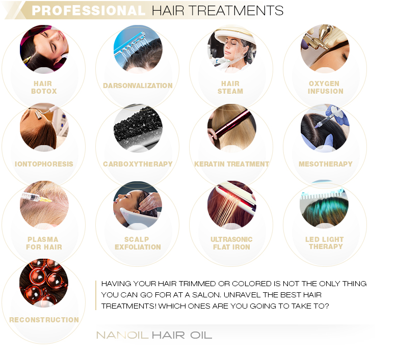 Professional Hair Treatments
