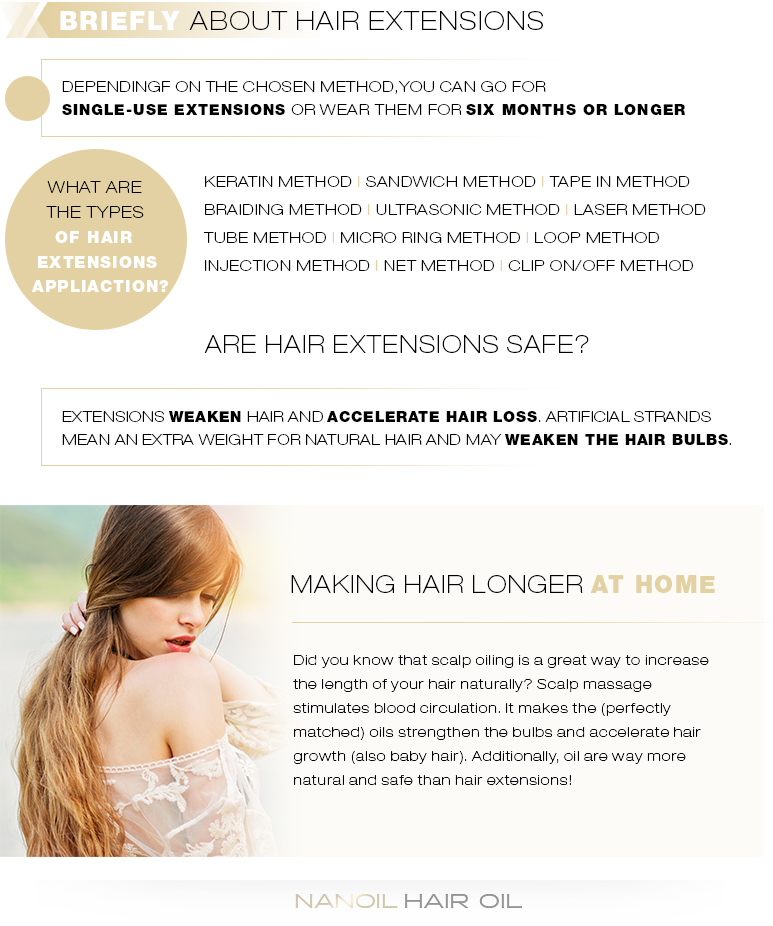 The Best Types of Hair Extensions