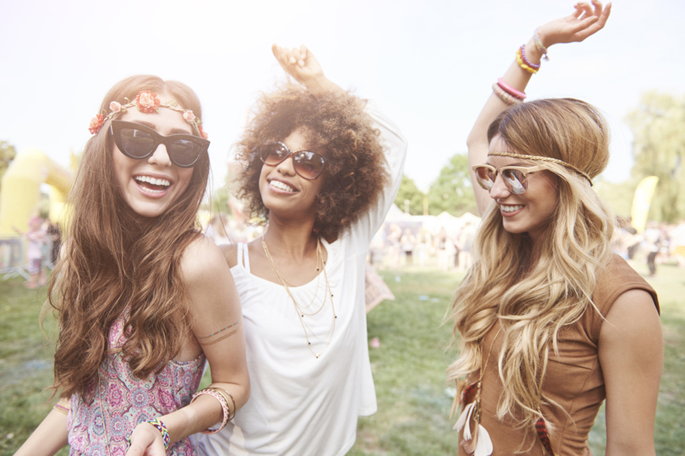 Summer rhythms! The best hairstyles for festivals (and more)